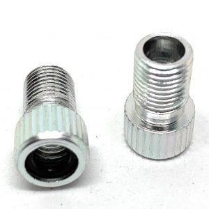 Hardheaded Ram 2 pcs black Presta valve adapter to Schrader for MTB