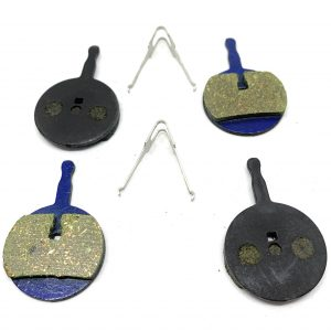 2 Bike Brake Pads Resin for Avid BB5 (Ball Bearing 5)