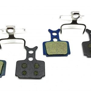 2 Bike Brake Pads Resin for Formula R1