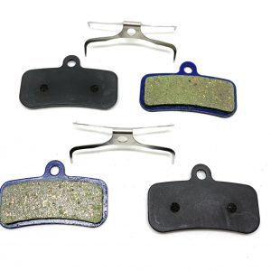 2 Bike Brake Pads Resin for Shimano Saint-M-810-820-640