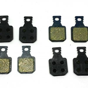 2 Bike Brake Pads Resin for Magura MT 5 4 pistons