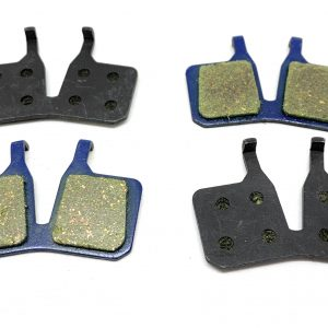 2 Bike Brake Pads Organic for Magura MT5 MT7 91-9566 9