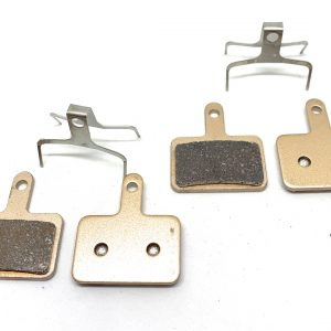 2 Bike Brake Pads Sintered for Shimano