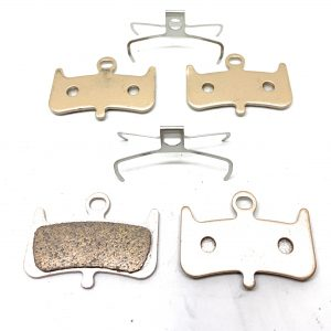 2-Bike Brake Pads Resin for Hayes 2014 A4