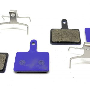 2 Bike Brake Pads downhill race for Shimano